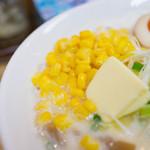しろくま食堂 - トッピング(コーン、バター)