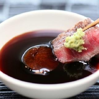 お肉と楽しむバリエーション豊かな「生山葵」