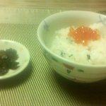別亭 空海 - 秋鮭といくらご飯(2014.9)