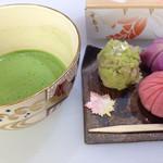 甘春堂 - 和菓子作り体験