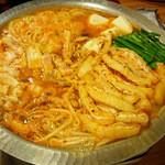 てっぱん番長 - ホルモンキムチ鍋