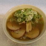 めんきち  - 料理写真:梅チャーシュー大入り