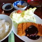 30875308 - トンカツ定食¥1,000-