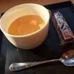 TO-FU CAFE FUJINO - 味噌汁.藤野八つ橋