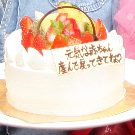 ルジャンドル 長田店 - 送別会にデコレーションケーキをご用意していただきました♪