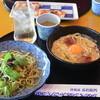 五右衛門 - 料理写真:2014/09 ハーフ&ハーフのセット 1,400円