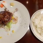 LASISA DINING - 自家製ハンバーグ オリジナルソース
