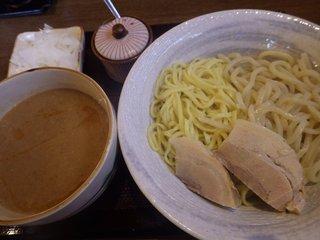 まるきつけ麺 - 甘海老えび寿夫婦つけ麺(並):720円
