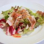 30879139 - アンティパストの生ハムと季節野菜のインサラータ