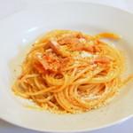 30879143 - パンチェッタと玉ねぎのトマトソース
