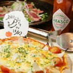 澁家 - もっちもちの手作りピッツァもコースで楽しめます!!