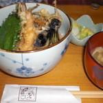 天八 - 天丼(ランチ700円)