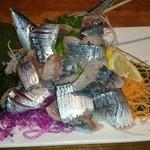 30882323 - 秋刀魚のお造り