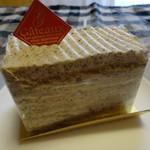 ラパレット - 料理写真:紅茶ともものケーキ