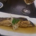 寿司 櫓 - 子持ちカレイの煮付け