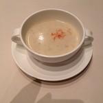 ロイヤル ブルー 精養軒 - 本日のスープ