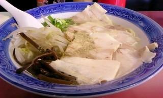 二代目 お富さん - チャーシュー麺