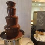 ノーザンテラスダイナー - チョコレートファウンテン ランチバイキング 2100円 【 2013年2月 】