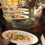 ノーザンテラスダイナー - ランチバイキン料理 1 【 2012年3月 】
