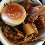 麺坊ひかり - 三彩飯ウマシ