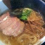 麺坊ひかり - 料理写真:味玉、忘れられてました♥