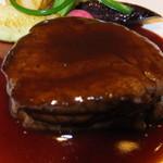 ノーザンテラスダイナー - 和牛ヒレ肉ステーキコース 7000円 和牛ヒレ肉ステーキのアップ 【 2014年9月 】