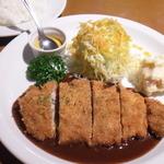 キッチン ヒロ - (ランチ:本日のおすすめ)三元豚ポークカツ デミグラスソース