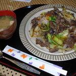Golfer's Caffe - 料理写真:焼き肉ライス ¥750