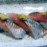 鮨大吉 - にしんの握り・醤油ダレ