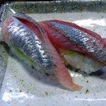 鮨大吉 - にしんの握り・味噌ダレ