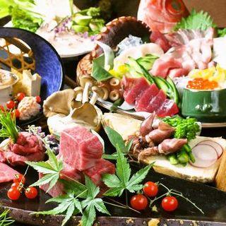 旬の魚料理・寿司