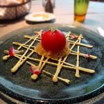 30893900 - トマトファルシーカニ詰めアボカドソーストマトのジュレと共に