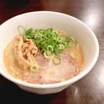 キラメキノトリ - 鶏白湯らーめん (750円) '14 9月上旬