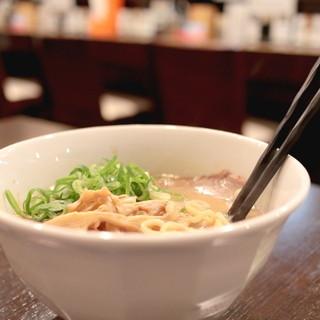 キラメキノトリ - 料理写真:鶏白湯らーめん (750円) '14 9月上旬