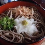 あさひ亭 - 3色蕎麦③