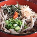 あさひ亭 - 3色蕎麦①