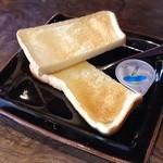城藤茶店 - 無料のトースト