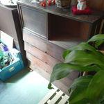 実家カフェ - 玄関とこの下駄箱