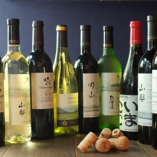 ワインが豊富です(*´∇`*)