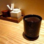 上野 しのばず屋 切麦庵 - 茶
