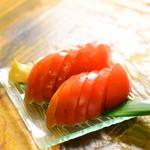 旬彩料理 GENKI屋 - 冷やしトマト