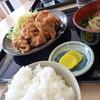 めん処 ゆうひ亭 - 料理写真:唐揚げセット