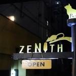 BAR ZENITH - お店の可愛いデコ