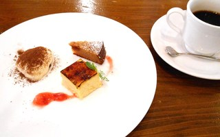チポリーナ - ランチC 本日のデザート盛り合わせ