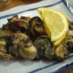 たち木 - 2010年1月 牡蠣の塩焼き