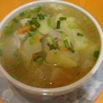 30911492 - バンシ、肉入り野菜スープ