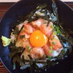 うちだ屋 - 料理写真:辛子めんたい丼¥658