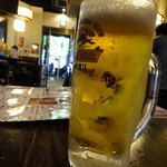 かぶらや - 生ビール ¥580