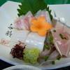 りきゅう - 料理写真:お造り 鯛、烏賊、鯵のたたき、鰆