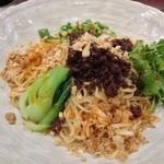 チャイニーズレストラン 凜 - 汁なし担々麺